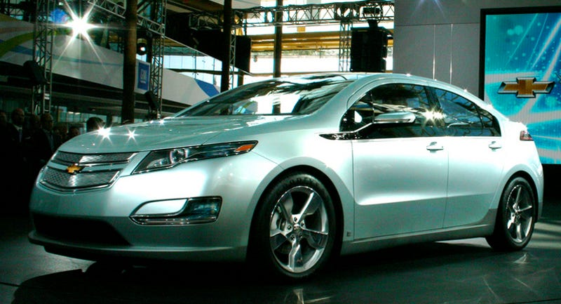 """Illustration for article titled Carnegie Mellon Study Claims Chevy Volt """"Not Cost Effective"""""""