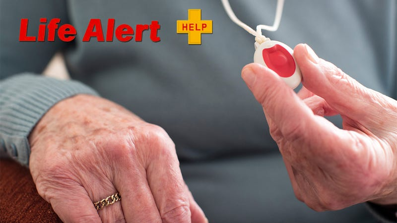 Illustration for article titled Compassion FTW: Life Alert Has Released A Necklace That Senior Citizens Can Press When They're Bored