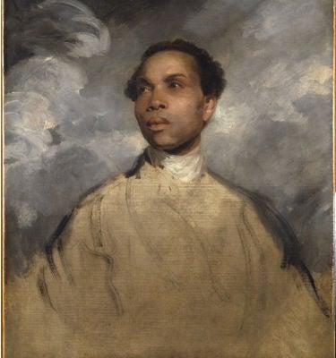 Joshua Reynolds, portrait of a black man, circa 1770.Oil on canvas, 78.7 x 63.7 cm. Houston, Menil Collection, 83-103 DJ.