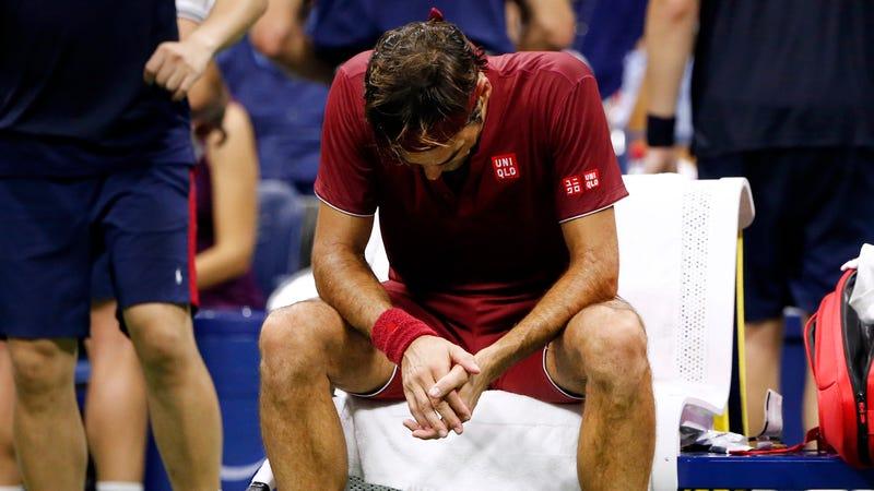 Illustration for article titled Roger Federer Got Soaked