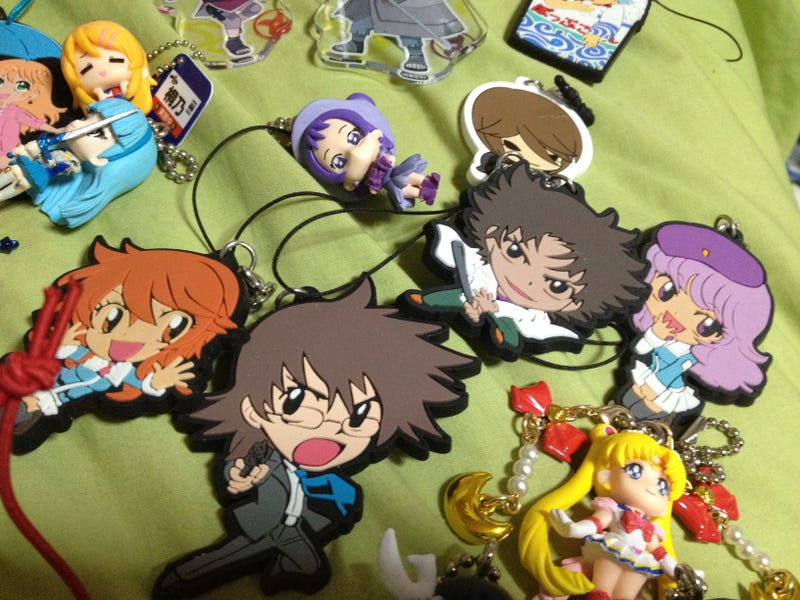 Illustration for article titled Anime Toys - A Really Big Pile of Keychains