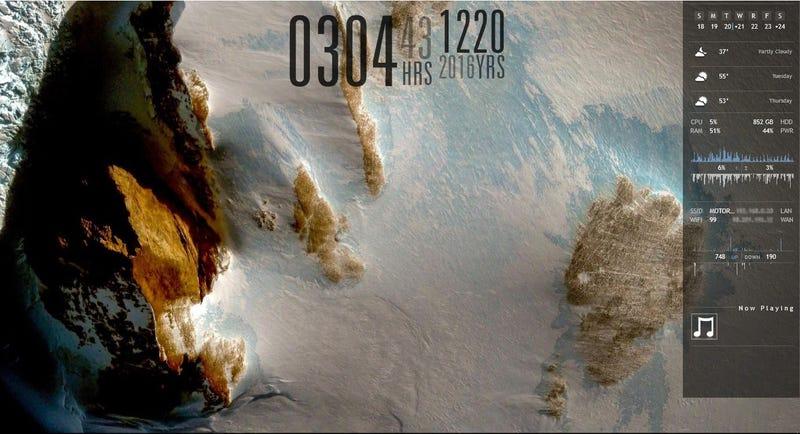 Illustration for article titled The Antarctic Landscape Desktop