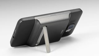 Illustration for article titled HTC HD2 Gets In On the Kickstand Craze That's Sweeping the Nation