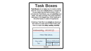 Illustration for article titled The Task Boxes Method Prioritizes To-Dos for Visual People