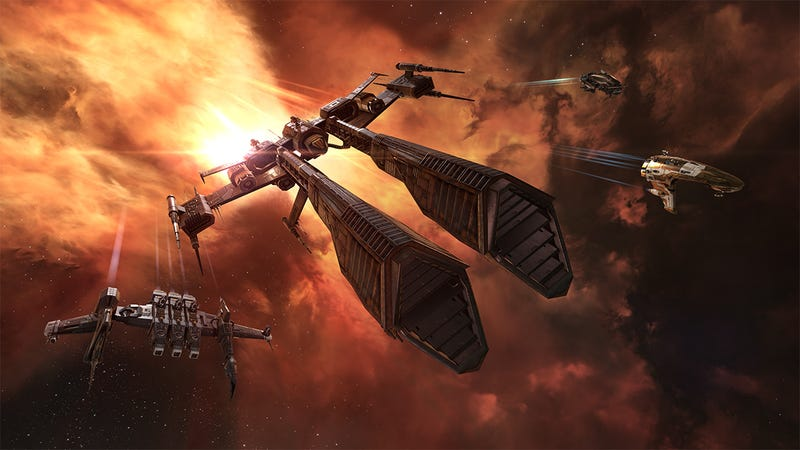 Illustration for article titled EVE Online Goes Free-To-Play In November
