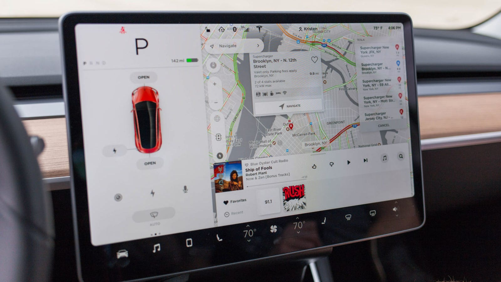 Cop Pulls Tesla Model 3 Driver Over For Computer Mounted On Dashboard