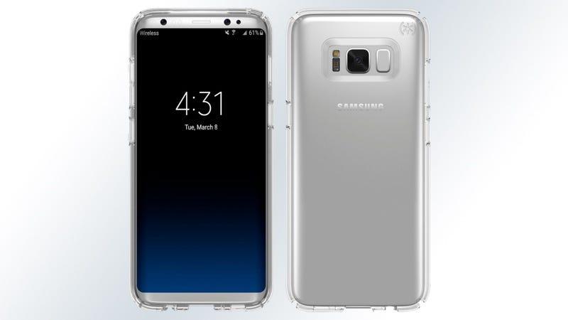 El nuevo Samsung Galaxy S8 (con funda), según un fabricante de fundas