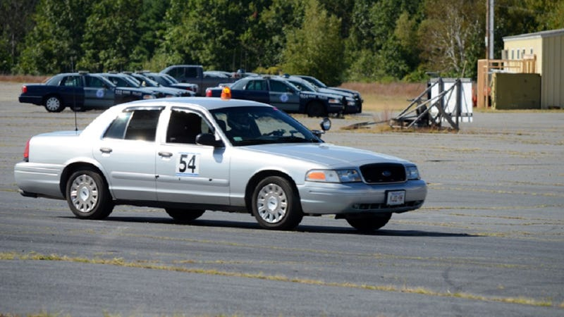 A Ford Crown Victoria Is Not Race Car It S Large Body On Frame Sedan That Weighs As Much Two Miatas Ed By Huge Lump Of 4 6 Liter V8