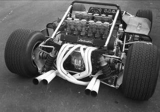 Illustration for article titled 1972 Lamborghini AMS Racecar