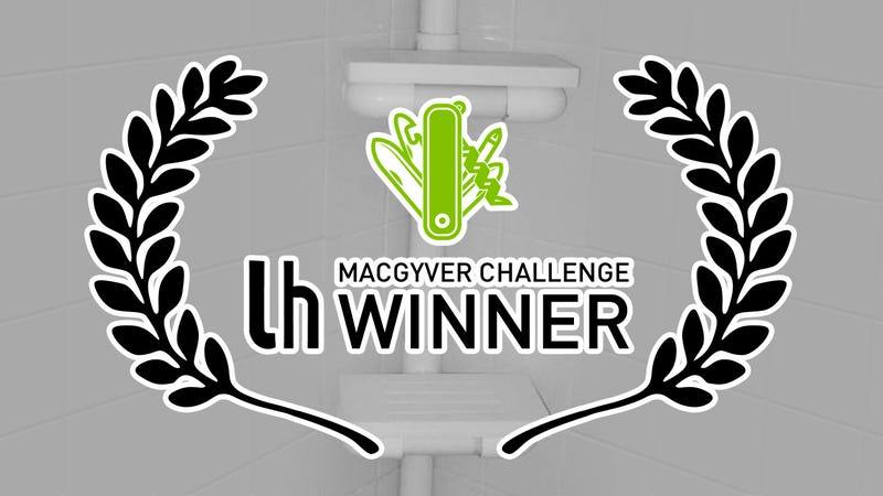 Illustration for article titled Hacker Challenge Winner: Create Your Own PVC Shower Rack