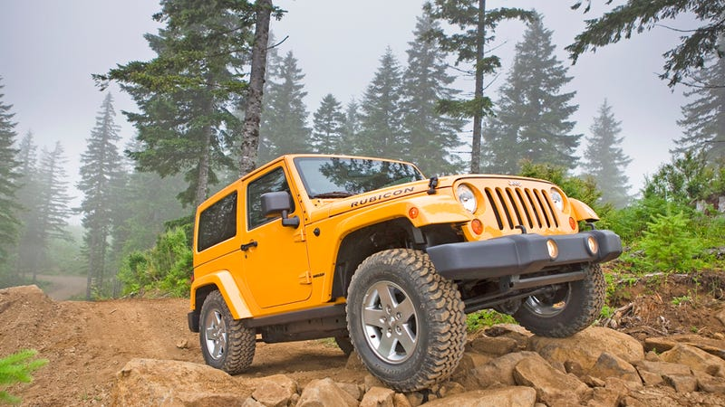 Illustration for article titled 2012 Jeep Wrangler: First Drive