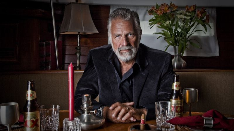 Illustration for article titled Dos Equis' Most Interesting Man had a most interesting career in television