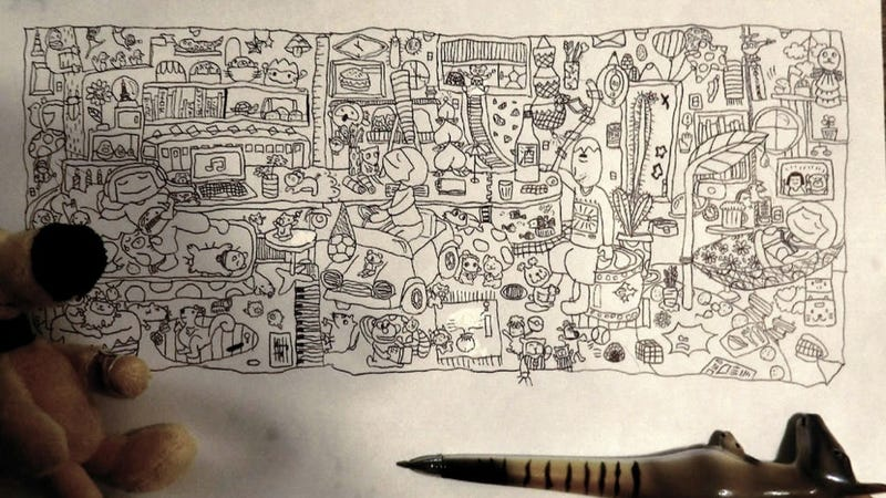 Illustration for article titled Third Grader Dazzles Twitter with Her Amazing Doodle