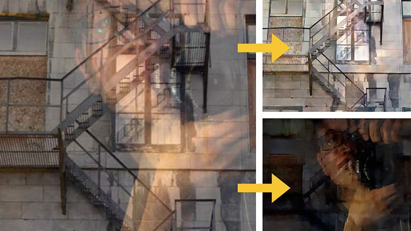 Illustration for article titled MIT Finally Figured Out How To Remove Your Reflection From Window Photos