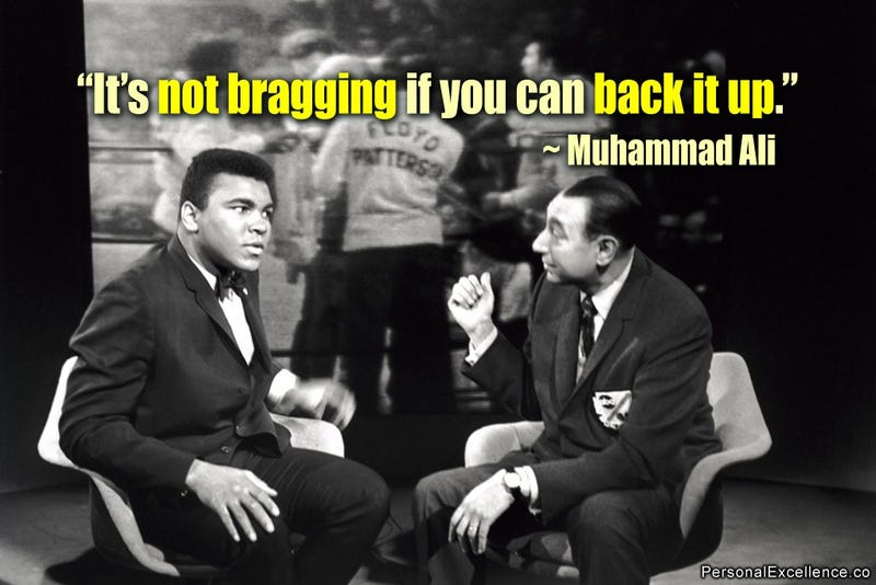 Muhammad Ali with Howard Cosell, the ABC sportscaster who initially made his reputation as a staunch defender of Ali when the heavyweight champion was stripped of his title in 1967 for refusing to be inducted into the Army during the Vietnam WarCelestine Chua/Flickr