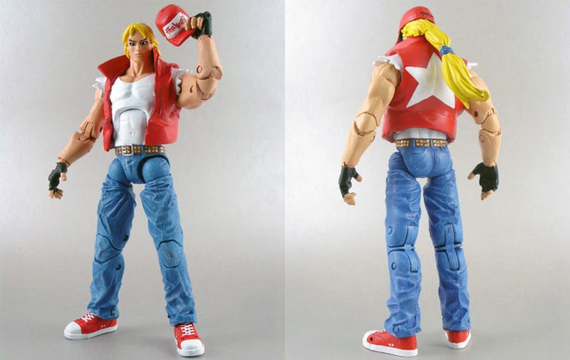 Illustration for article titled Alright, A Terry Bogard Action Figure!