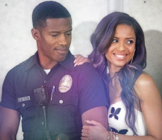 Nate Parker and Gugu Mbatha-Raw starring as Kaz and Noni in Beyond the Lights.Facebook