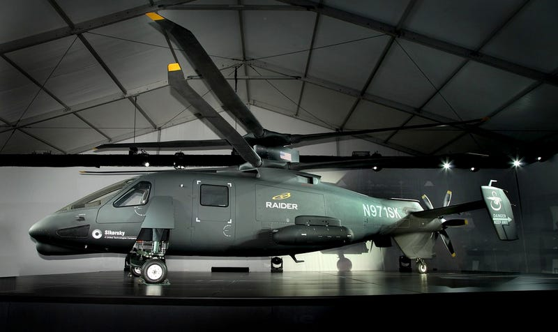 Illustration for article titled Este nuevo helicóptero de asalto es uno de los más rápidos del mundo