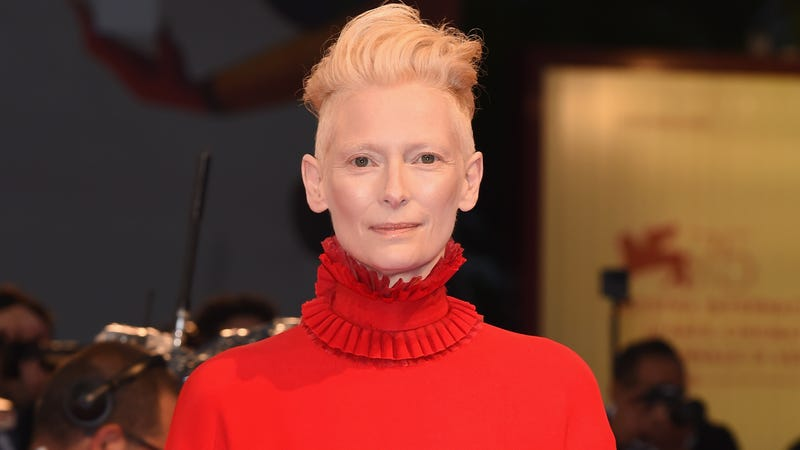 Illustration for article titled Tilda Swinton is still denying everything about what she might be up to in Suspiria