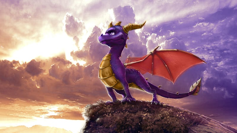 Concept art from The Legend Of Spyro: Dawn Of The Dragon. (Image: Activision)