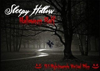 Illustration for article titled Run Off That Halloween Candy Ahead of Time With The Sleepy Hollow Virtual Half Marathon