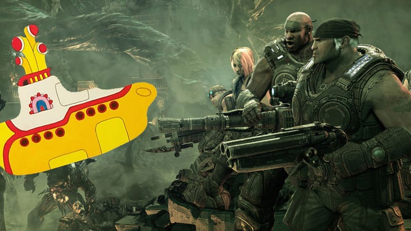 Illustration for article titled Make a Gears of War 3 Designer Happy and Find This Easter Egg