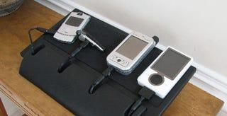 Illustration for article titled Gomadic Charging Station Hides Shame, Displays Gadgets