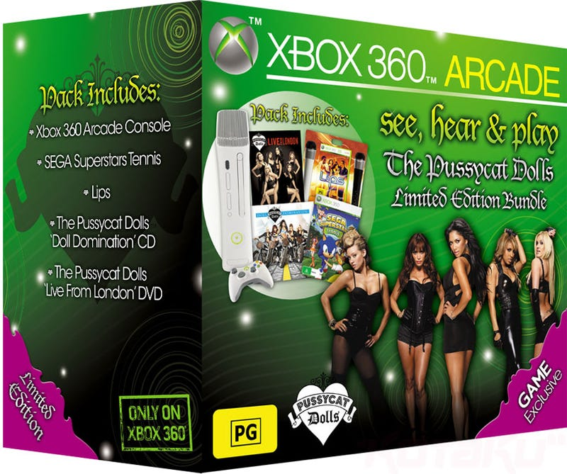 Illustration for article titled Australia Gets The Strangest Damn 360 Bundle You'll Ever See