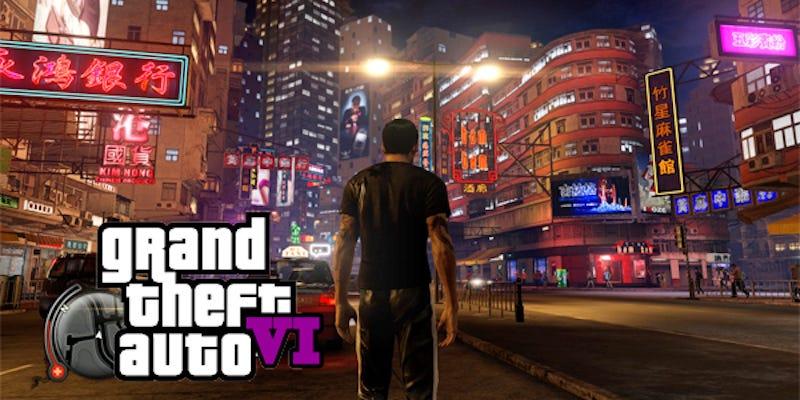 Very fake image via very fake website GTA6GAME.com