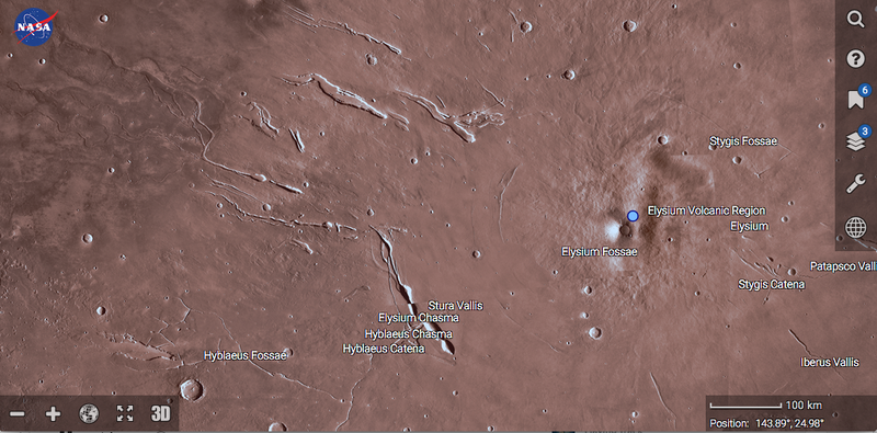 Illustration for article titled NASA Has One-Upped Google Earth for Mars