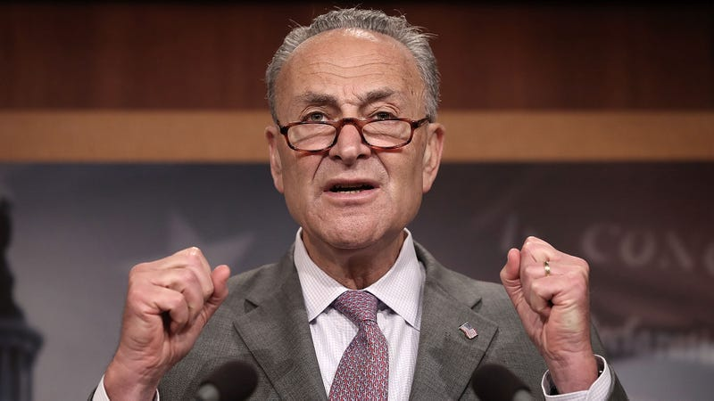 Illustration for essay patrician Chuck Schumer: The American People Deserve A President Who Can More Credibly Justify War With Iran