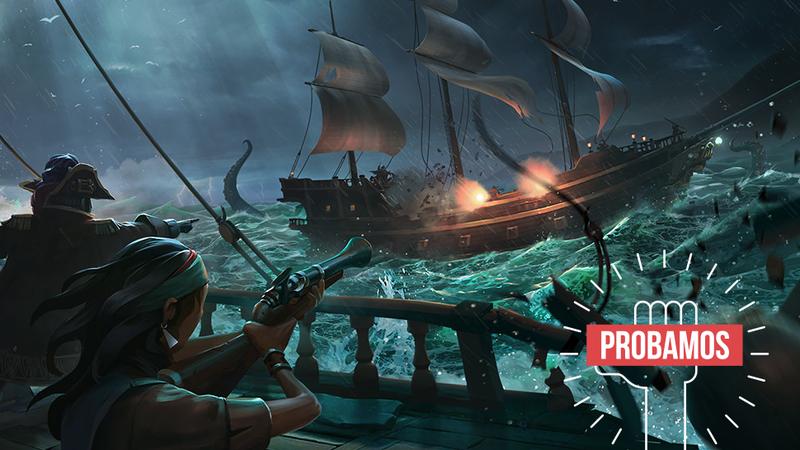 Illustration for article titled Probamos Sea of Thieves para Xbox y PC: el juego cooperativo perfecto solo tiene un problema