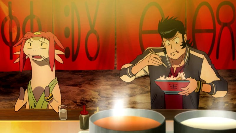 "Illustration for article titled The Graveyard Shift: ""Emergency Ramen"" Edition"