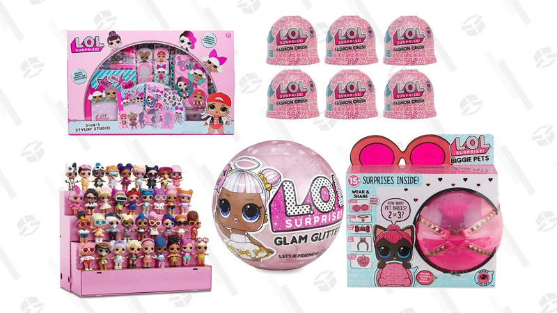 Save up to 50% on select L.O.L Surprise! Gold Box | Amazon
