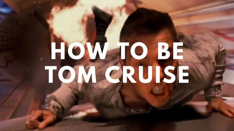 Illustration for article titled Learn to be Tom Cruise with one simple YouTube course