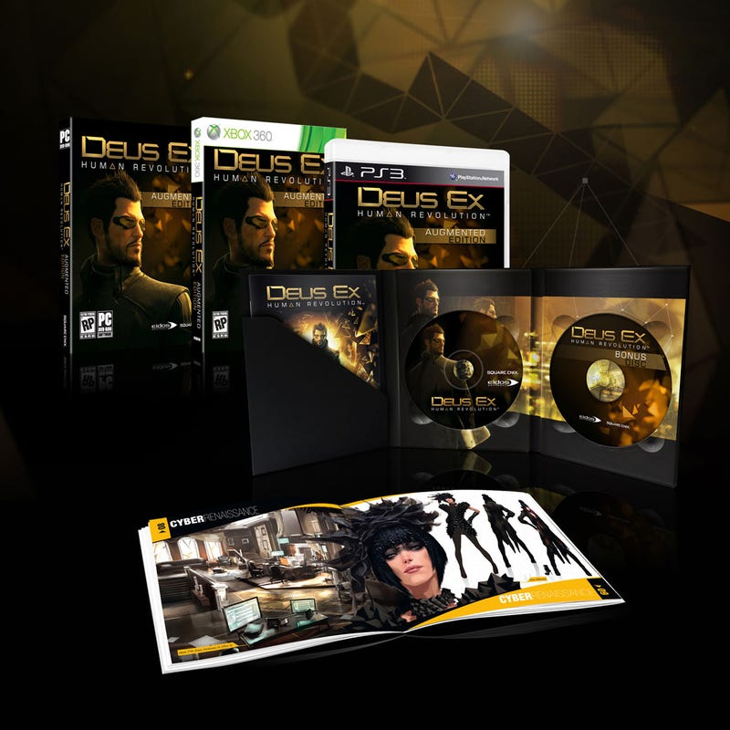 Deus ex human revolution augmented edition for pc | gamestop.