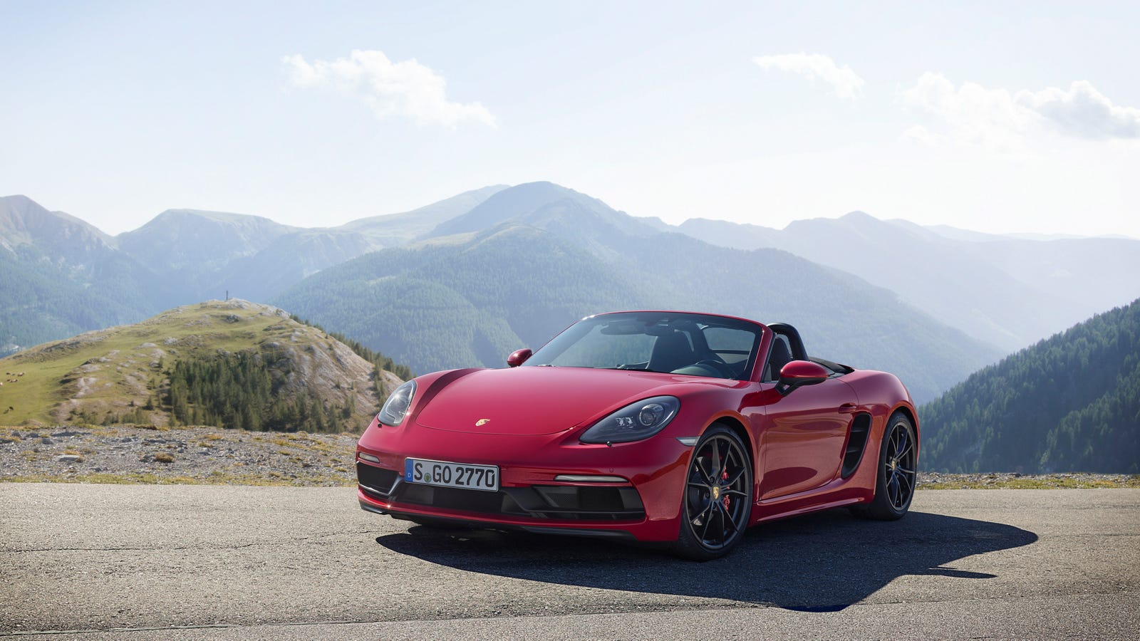 the new porsche 718 boxster spyder will use the 911 gt3 39 s 4 0 liter flat six report. Black Bedroom Furniture Sets. Home Design Ideas
