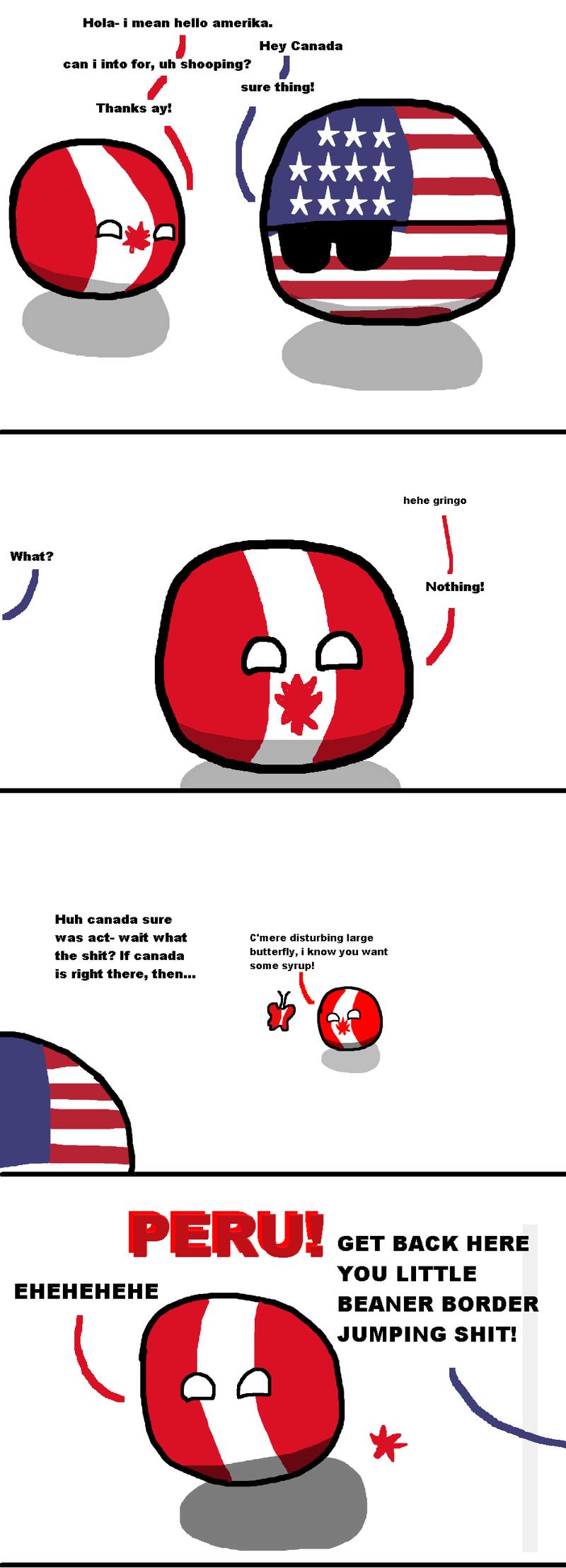 Illustration for article titled Daily Polandball: Advanced Border Crossing.