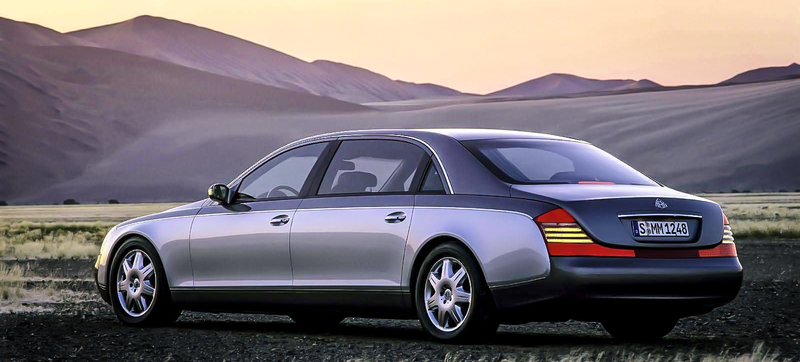 Illustration for article titled Why Buy A New S600 When This Insanely Opulent Maybach 62 Is Way Less?