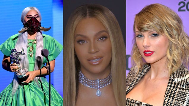 Beyoncé, Lady Gaga, Taylor Swift, and Ariana Grande really want you to vote