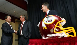 Illustration for article titled Presenting Details Culled From The Heroic, Romantic Tale Of How Dan Snyder Courted Mike Shanahan