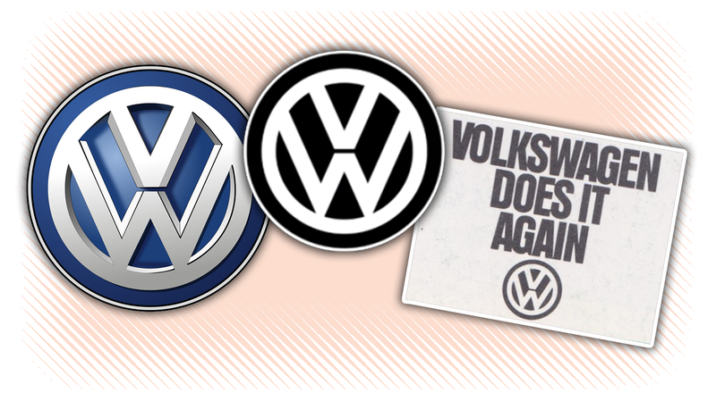 Illustration for article titled Volkswagen's New Logo Is Its Old Logo