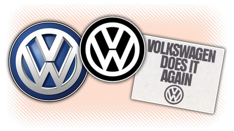 Volkswagen's New Logo Is Its Old Logo