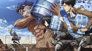 Illustration for article titled Attack On Titan's Merchandise Now Comes In Water Cooler Form