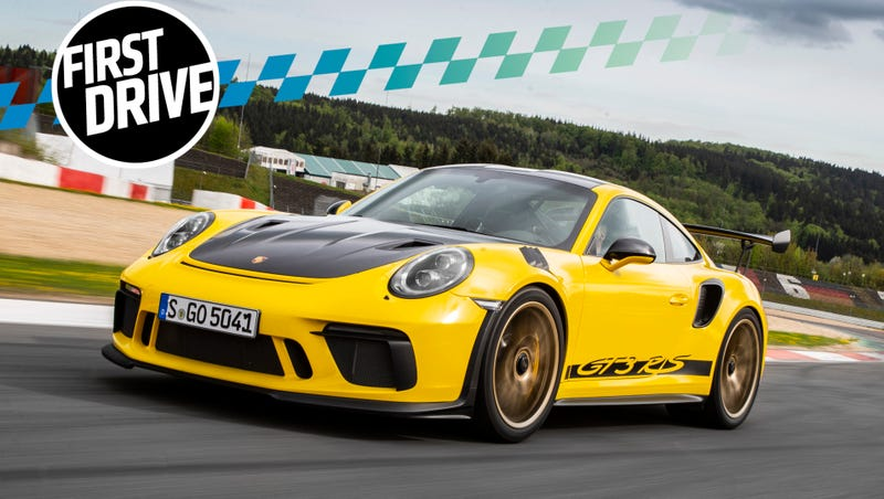 The 2019 Porsche GT3 RS Is The Exception To The Rules Of Physics