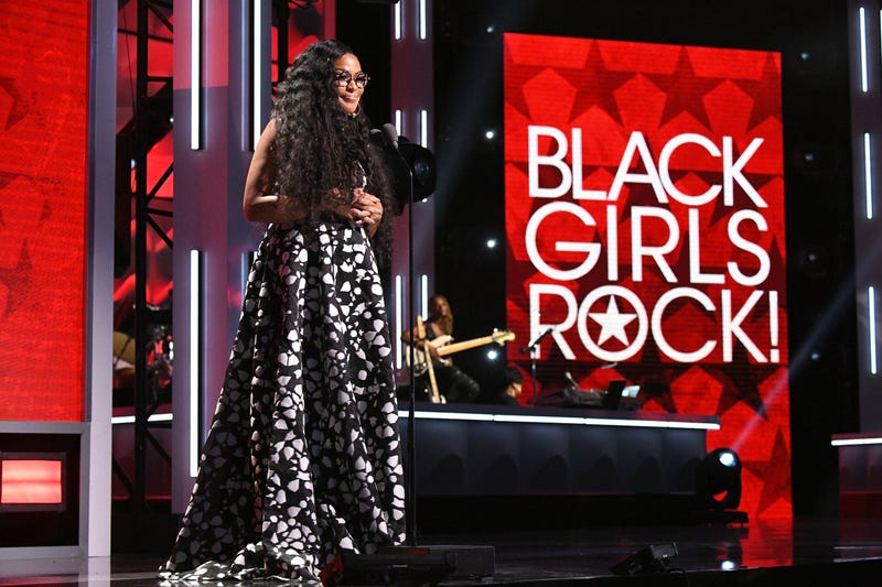 CEO and founder Beverly Bond speaks onstage at Black Girls Rock! 2017. (Dia Dipasupil/Getty Images for BET)