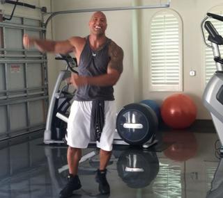 "Dwayne ""the Rock"" Johnson/Instagram"