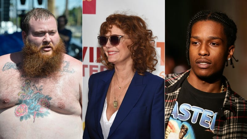 Illustration for article titled Susan Sarandon Invites A$AP Rocky and Action Bronson to 'Blaze One'