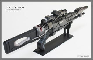 Illustration for article titled Real Mass Effect Sniper Rifle Does Not Need Calibration