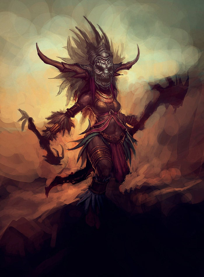 Diablo III's Witch Doctor Shows Its Feminine Side
